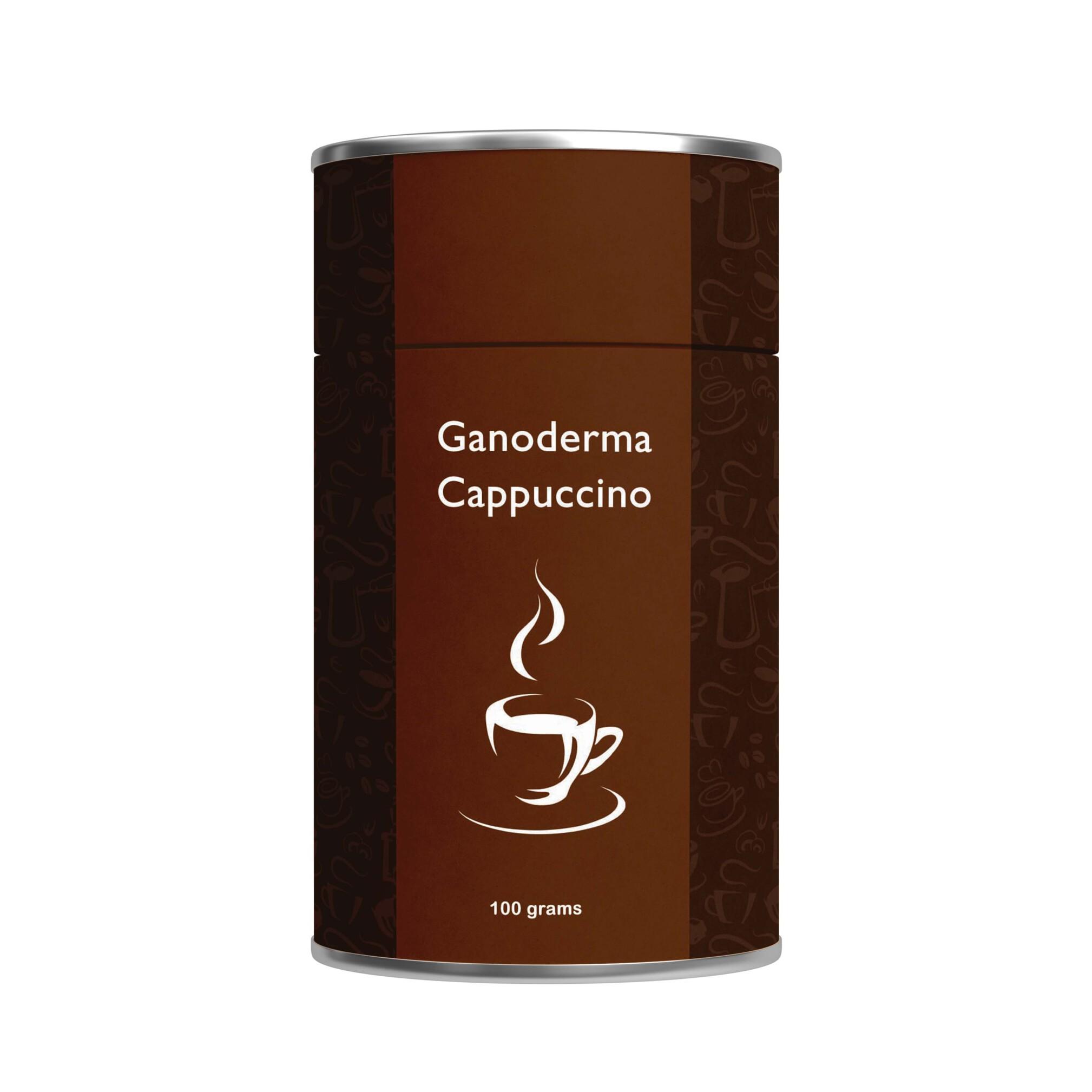 ترکیب کاپوچینو با قارچ گانودرما