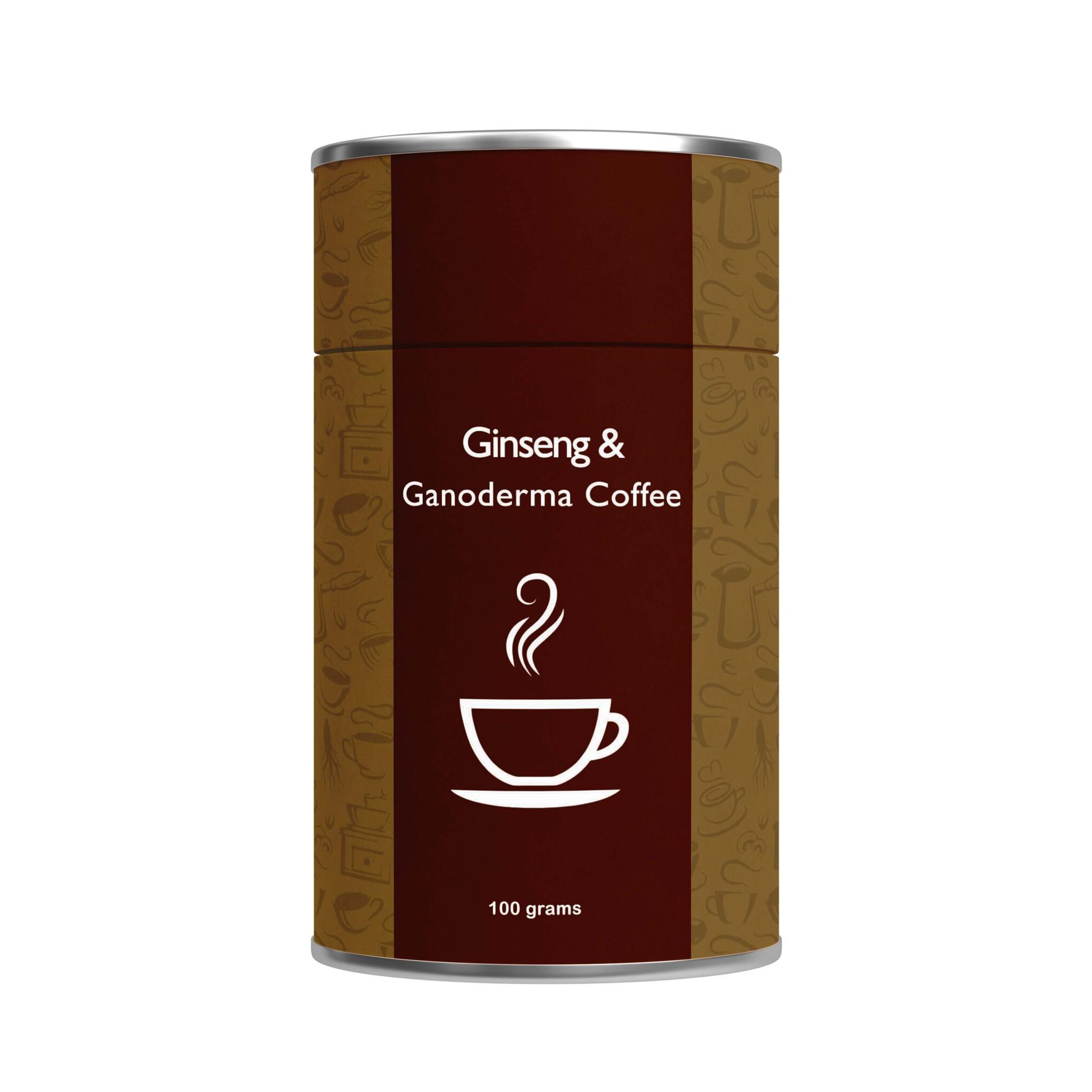 ترکیب قهوه با جنسینگ و قارچ گانودرما