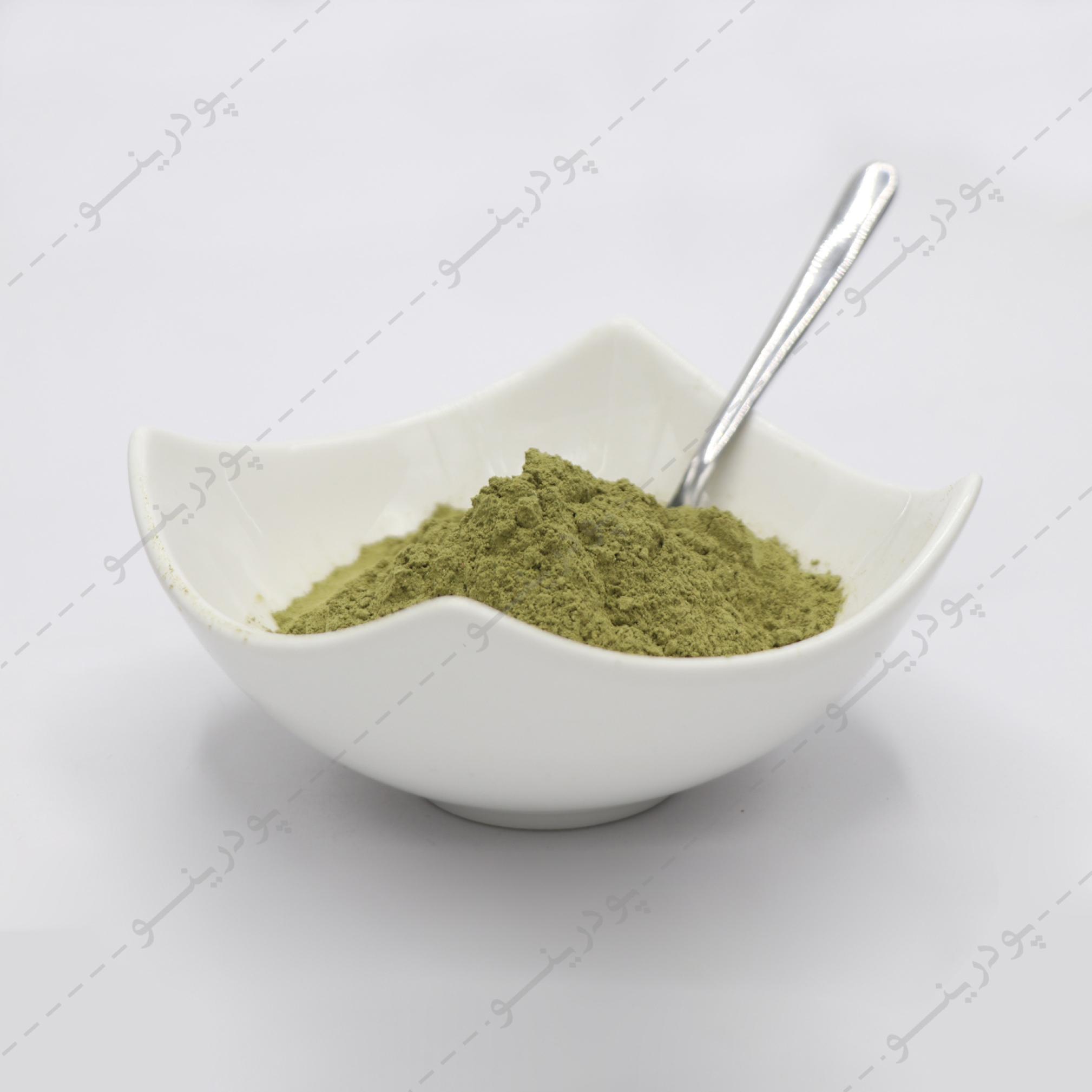 رنگ گیاه مورینگا