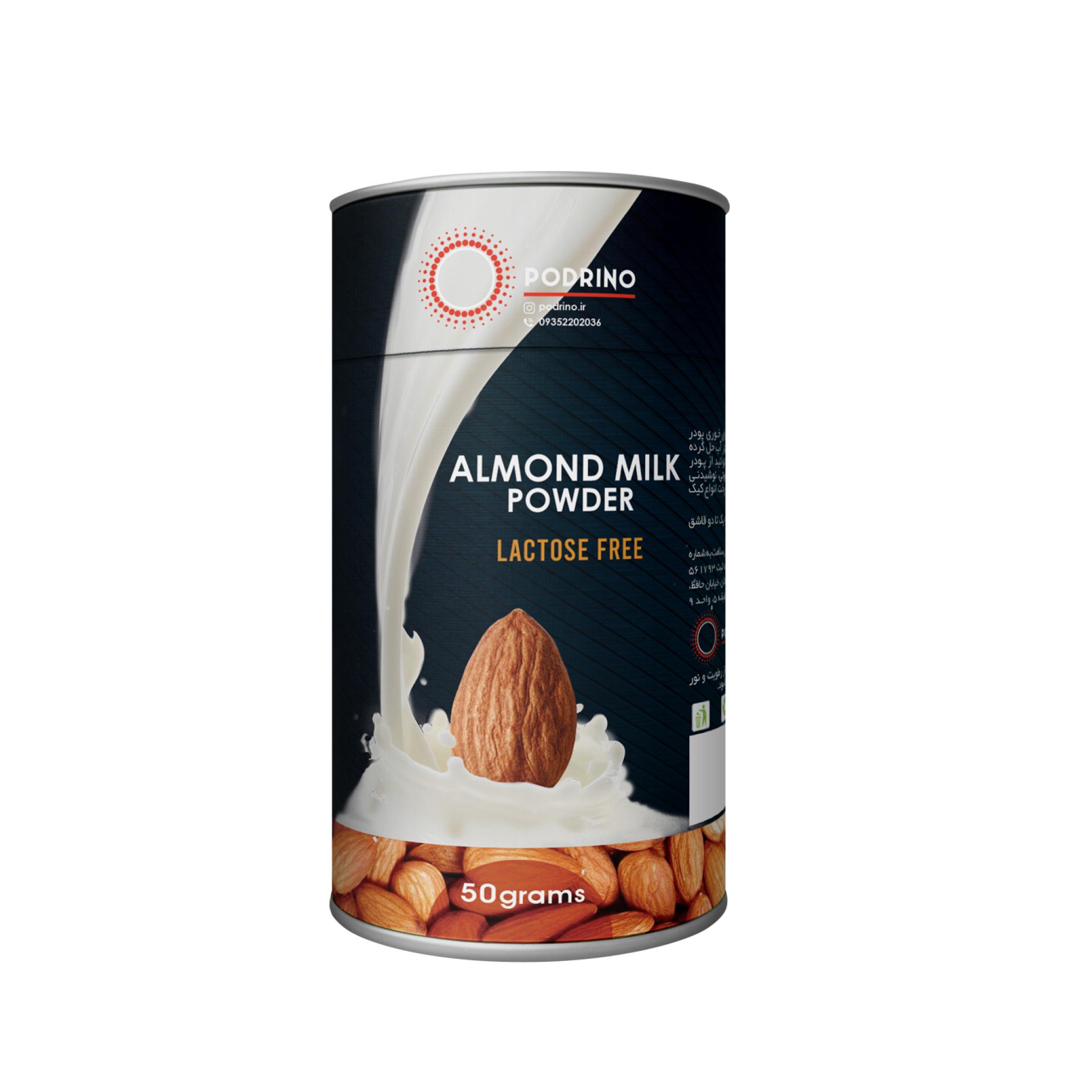 خواص پودر شیر بادام