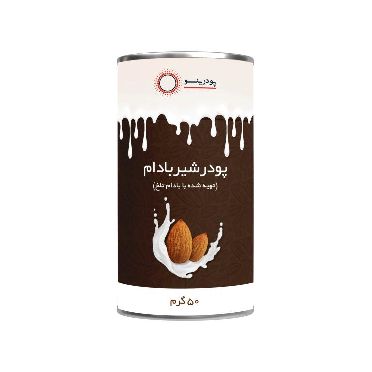 پودر شیر بادام تلخ