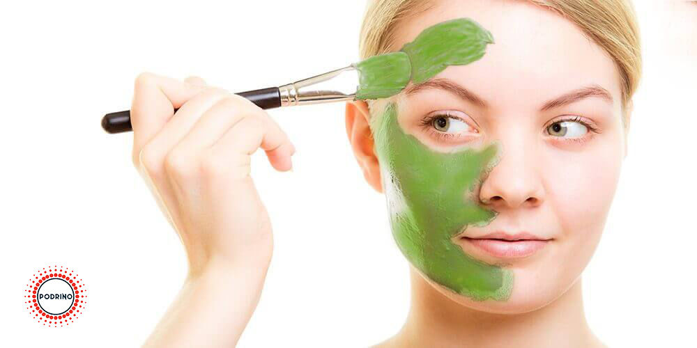 ماسک صورت ماچا و عسل برای پوستهای چرب