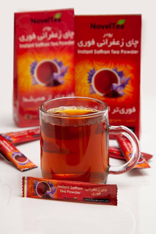 چای زعفرانی فوری