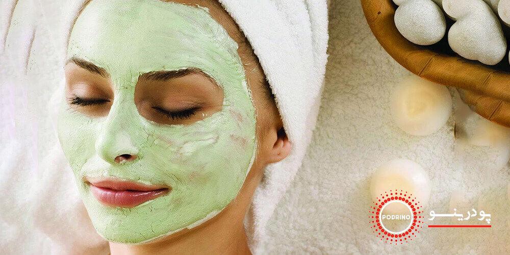 طرز تهیه ماسک صورت خانگی (ماسک جوانی) با پودر ماچا